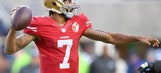 Shannon Sharpe believes Colin Kaepernick would be a 'great fit' for the Dolphins   UNDISPUTED