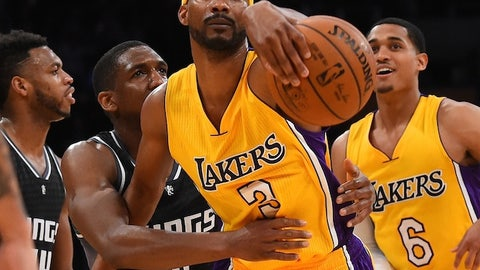 Corey Brewer, Jordan Clarkson and two future first-round picks