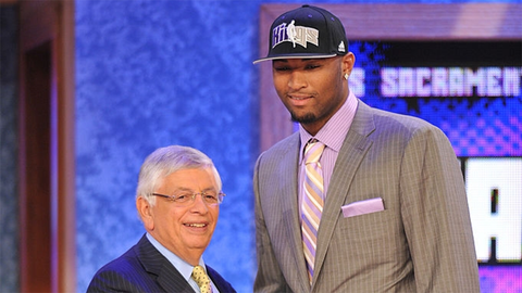 DeMarcus Cousins | College: Kentucky | 2010 NBA Draft | 5th overall pick by Kings