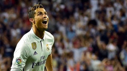 1. Cristiano Ronaldo: $93 million