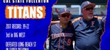 Get to know the Titans: CSUF vying for 5th College World Series title