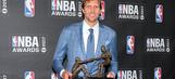 Dirk Nowitzki named Twyman Stokes Teammate of the Year