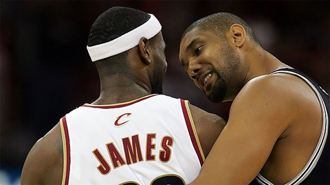 Tim Duncan's message to LeBron