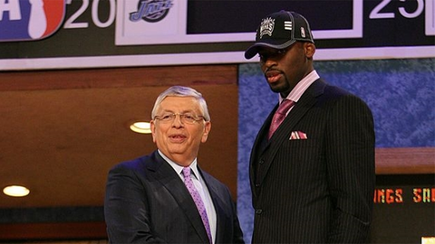 Tyreke Evans | College: Memphis | 2009 NBA Draft | 4th overall pick by Kings