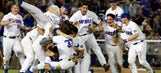 Interference call negates tying run, propelling Florida to first-ever CWS title
