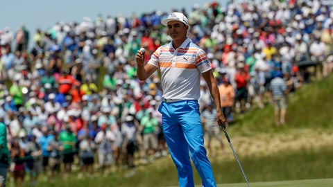 Rickie Fowler: 'It's just the first round'