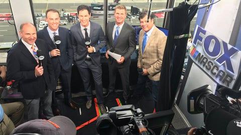 Adam Alexander, FOX NASCAR play-by-play announcer