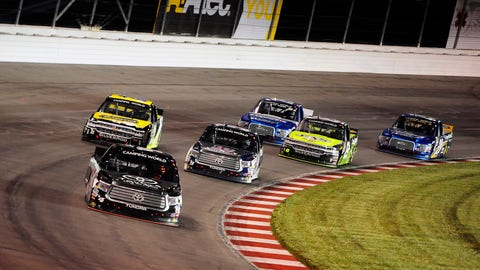 Camping World Truck Series qualifying