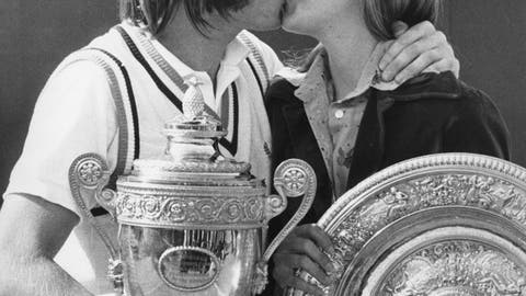 Chris Evert and Jimmy Connors (engaged/broken up)