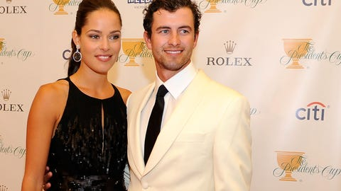 Ana Ivanovic and Adam Scott (broken up)