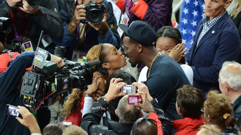 Sanya Richards-Ross and Aaron Ross (married)