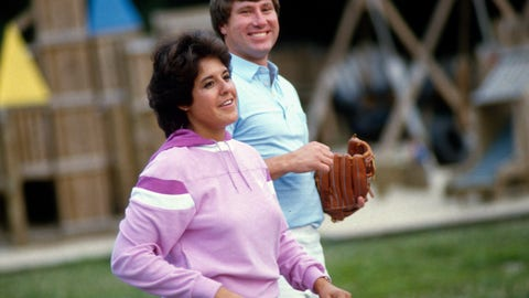 Nancy Lopez and Ray Knight (divorced)