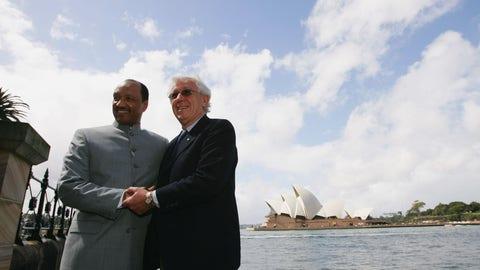 Australia wasn't always part of the AFC
