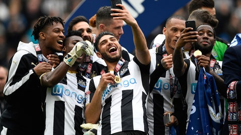 Newcastle vs. Tottenham (Aug. 12, 2017)
