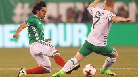 June 1: Mexico 3-1 Republic of Ireland