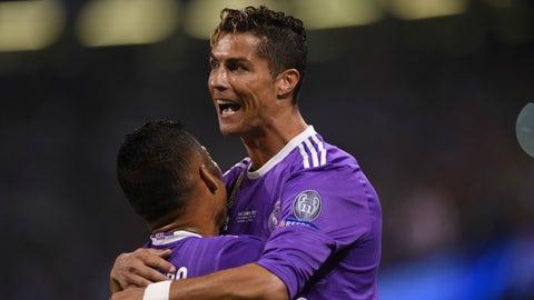 The tactics were all about Cristiano Ronaldo