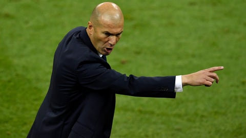 Take a bow, Zinedine Zidane