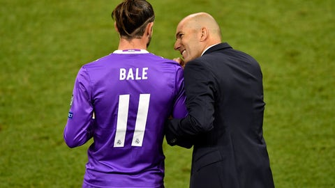 At least Gareth Bale got on the pitch