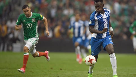 5. Honduras - 4 points