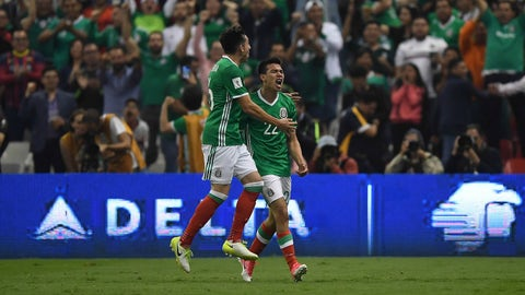 1st. Mexico - 13 points