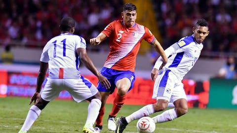 2nd. Costa Rica - 8 points