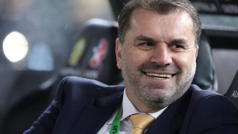 Coach Ange Postecoglou has set the bar high