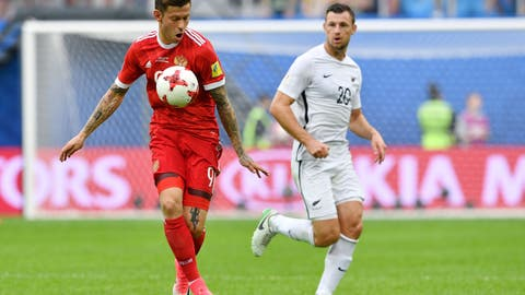 Fyodor Smolov was the star