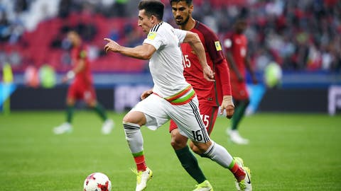 The Hector Herrera/Jonathan dos Santos midfield is still clicking