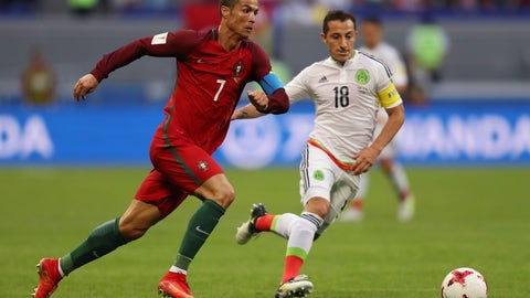 Cristiano Ronaldo was quiet, but effective