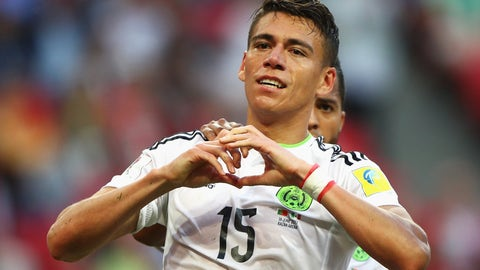 Hector Moreno, goal scorer