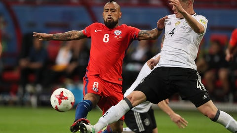 Chile's press gave Germany fits