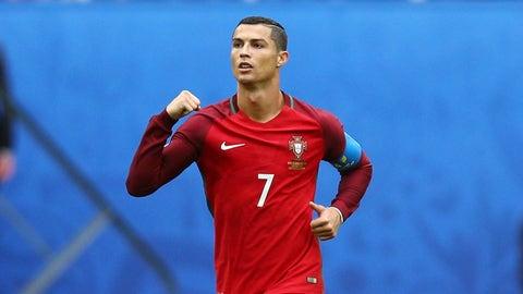 Congratulations to Cristiano Ronaldo