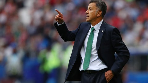 Let's see what Juan Carlos Osorio has up his sleeve