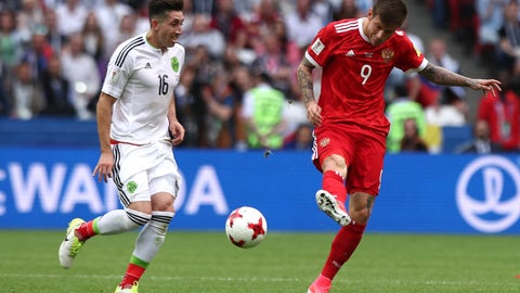 Mexico need to keep riding Hector Herrera and Jonathan dos Santos