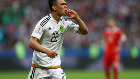 Hirving Lozano is one brave man