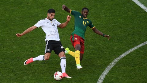 Germany's midfield adjusted well in the second half