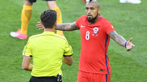 Chile were far from their best