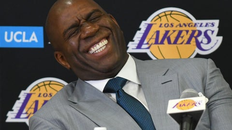 VIDEO: Do the NBA's tampering rules really apply to Magic Johnson? Colin and Whitlock react