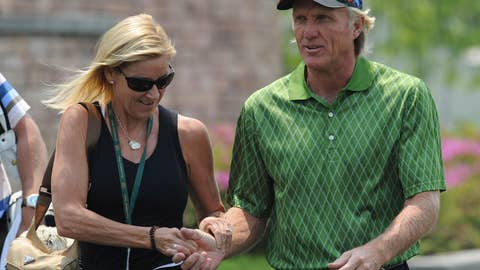 Chris Evert and Greg Norman (divorced)