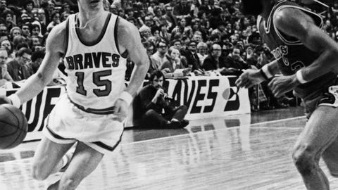 Highest NBA free throw percentage by a rookie: .902 (1973-74)