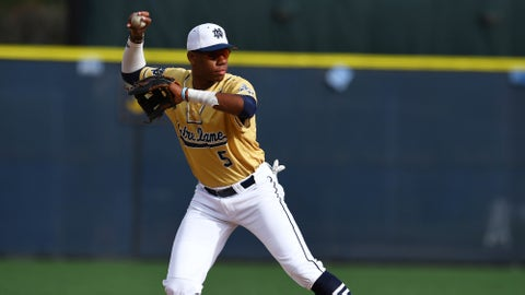 Hunter Greene - SS/OF/RHP Notre Dame HS
