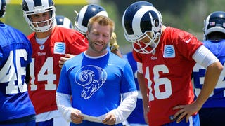 'The Herd': Is Jared Goff the answer at QB for Rams? GM Les Snead explains