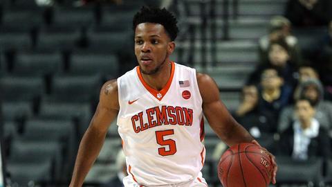 Jaron Blossomgame | San Antonio Spurs | College: Clemson