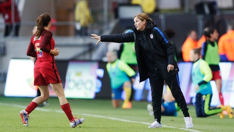 The USWNT proved how good they can still be