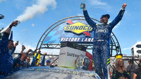 Jimmie Johnson, 3 wins