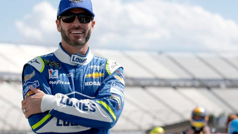 Jimmie Johnson recovers