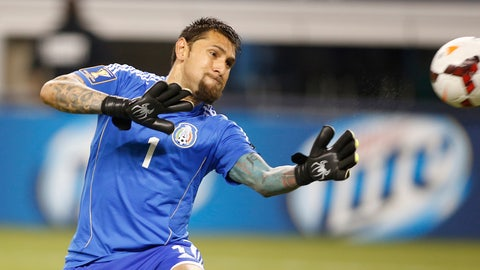 GK: Jonathan Orozco