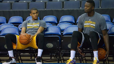 Jordan Clarkson, Julius Randle, and a future first-round pick