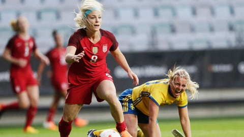 The USWNT looks better defensively by sticking to what it knows