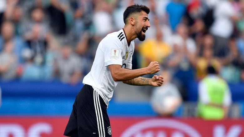 Watch Kerem Demirbay's screamer to help Germany cruise into the Confederations Cup semis